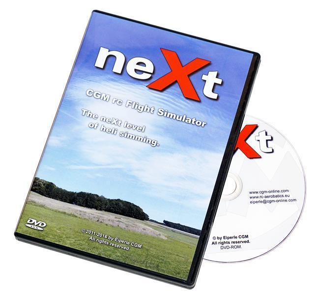 Simulator RC HELI neXt DVD