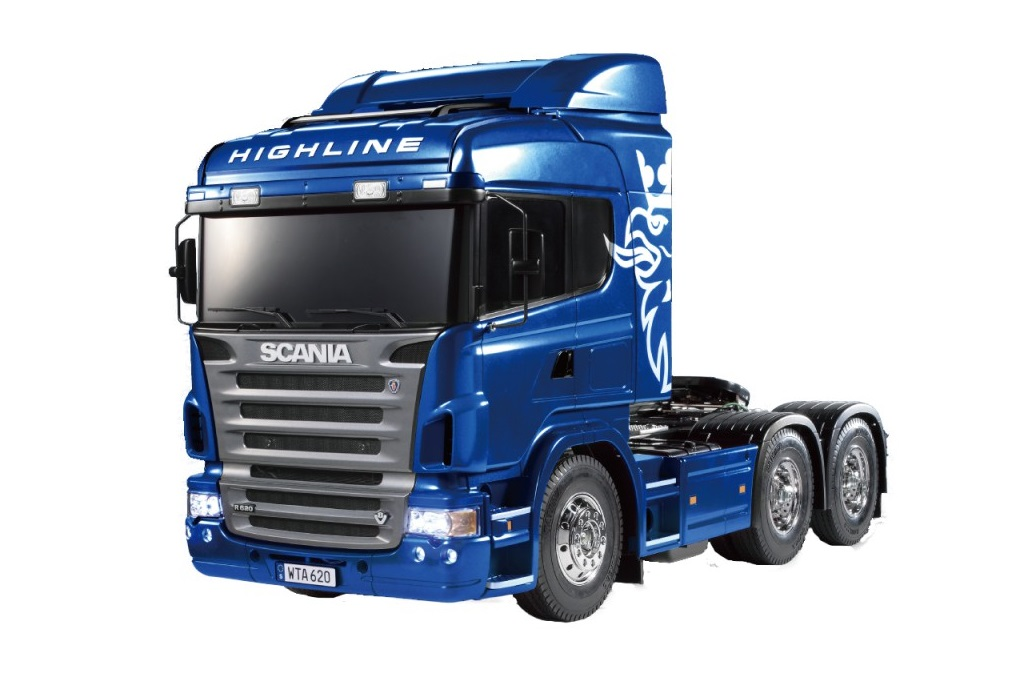 Scania R620 Highline Full Op. Blue Finished