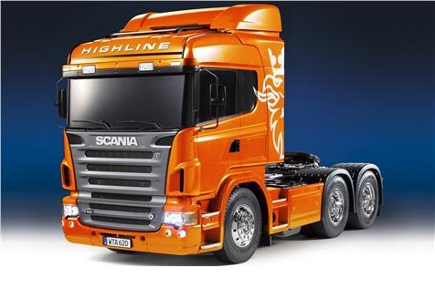 Scania R620 Highline Metallic Orange Full Op.