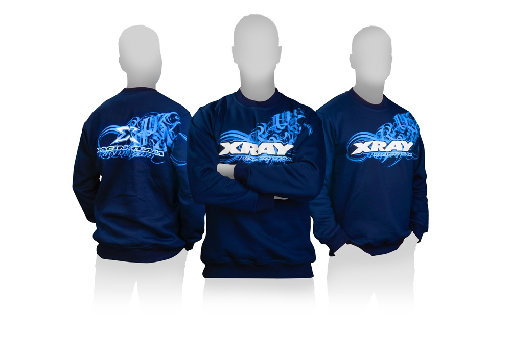 Sweatshirt Team XRay blau (L)
