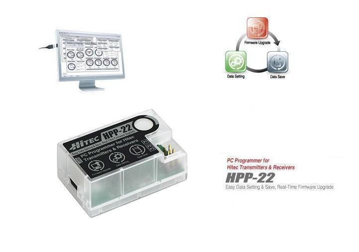 HPP-22 Hitec USB Interface PC Programmierer