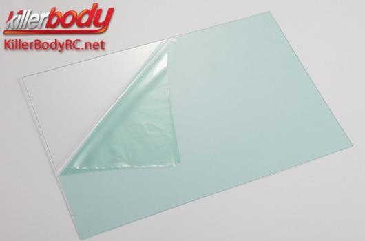 Lexan 203x305x0.8mm Glasshell