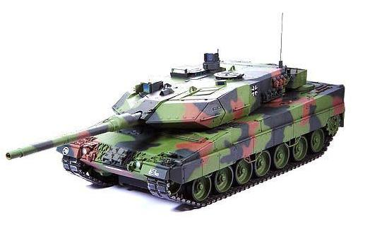Panzer Leopard 2 A6 Full Options