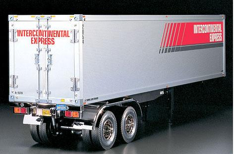 Auflieger Tamiya Trailer / Container 40ft.