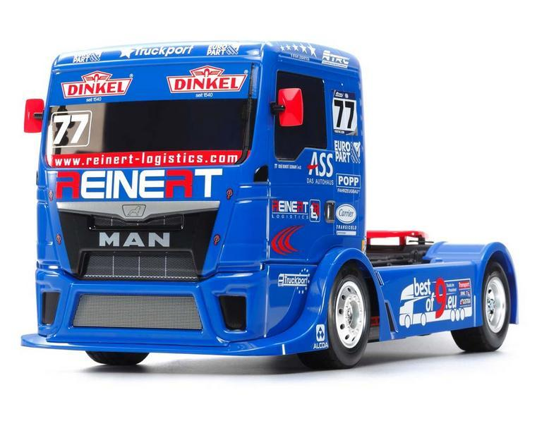 Team Reinert Racing MAN TGS TT-01-E Bausatz