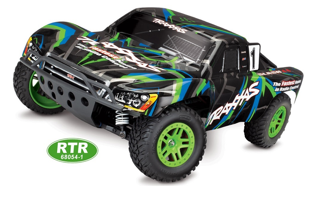 Slash 1/10 4WD 12T 550 XL-5 ESC RTR
