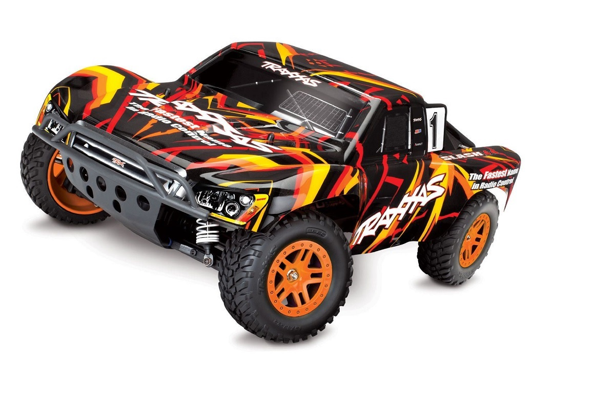 Slash 1/10 4WD 12T 550 XL-5 ESC RTR orange