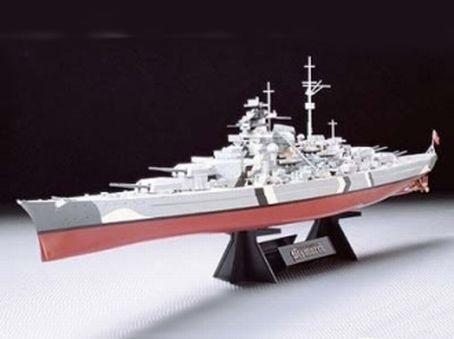 Bismarck German Battleship 1/350