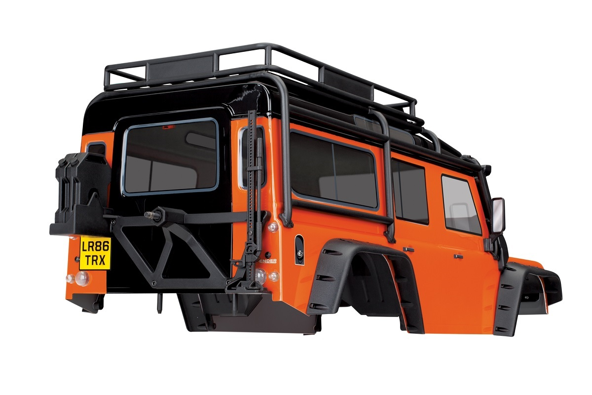Karosserie Land Rover Defender TRX-4 orange