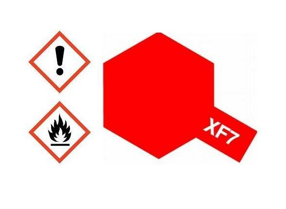 XF-7 Acrylfarbe rot matt 10ml