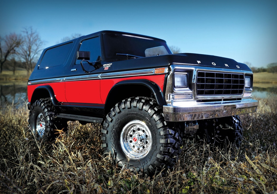 Ford Bronco 1979 rot 1/10 RTR TRX4 Chassis