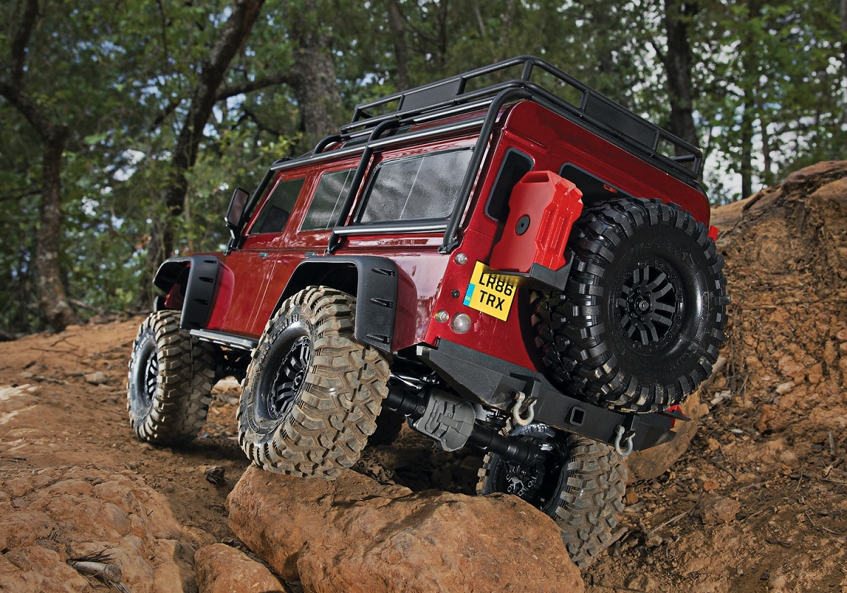 Land Rover TRX-4 Crawler 1/10 RTR rot
