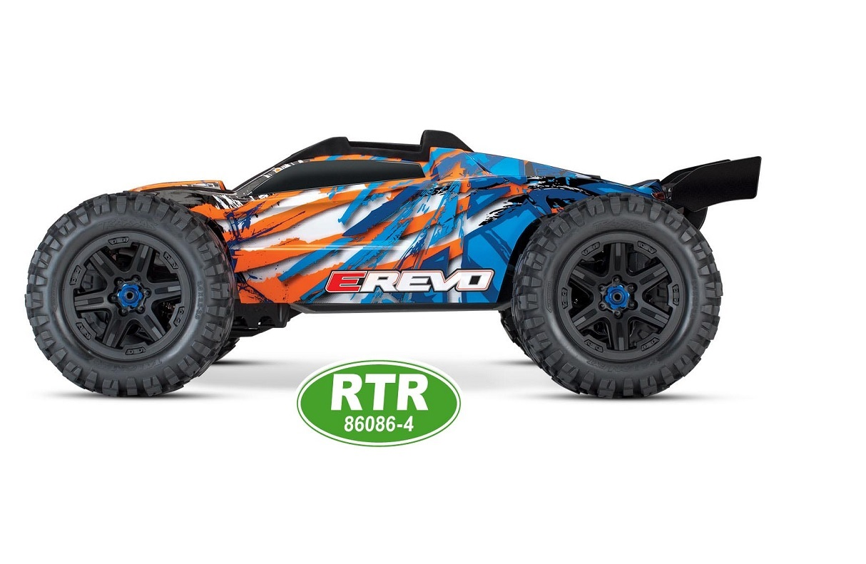 E-Revo 2.0 4WD RTR Monster-Truck TSM orange