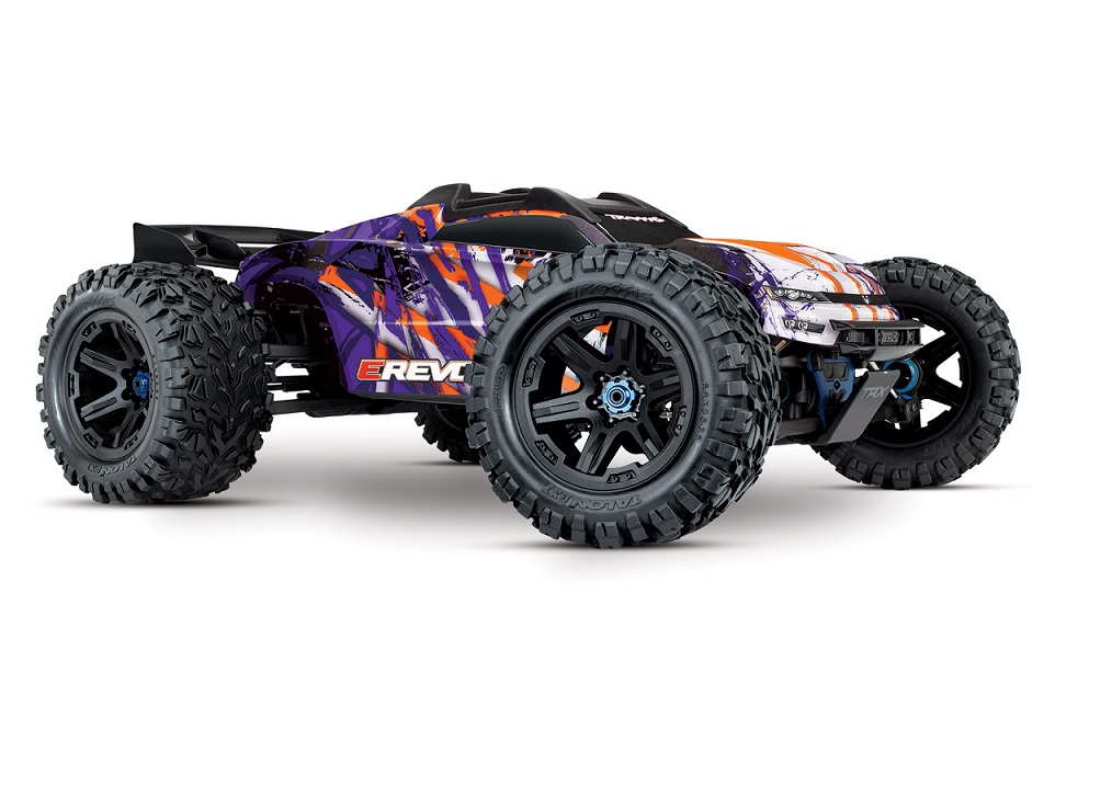 E-Revo Monster-Truck TSM 4WD 1/10 RTR purple