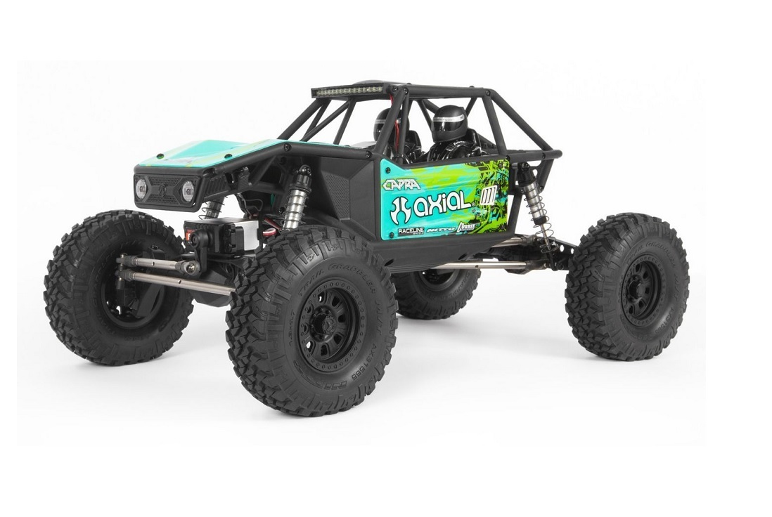 Capra 1.9 Unlimited Trail Buggy 1/10th RTR grün