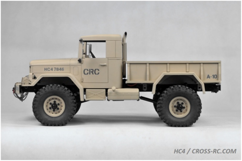 HC4 Truck 4WD 1:10 CROSS-RC Baukasten