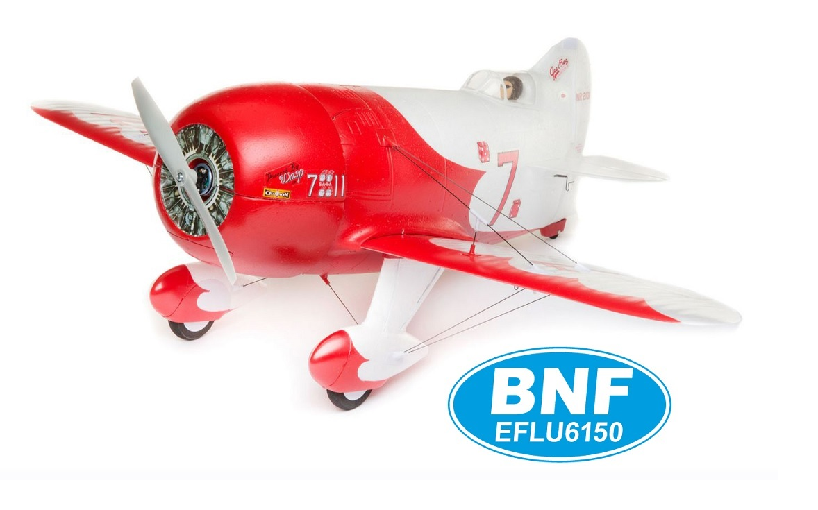 GEE BEE U.MICRO 510mm BNF mit AS3X