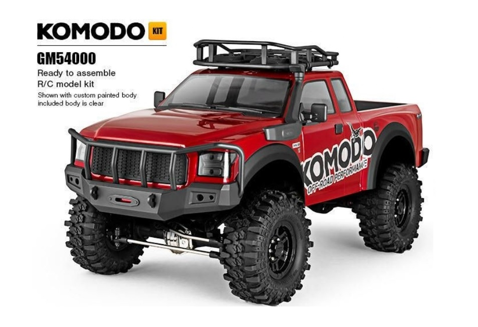 Komodo 4WD Kit Gmade 1/10 GS01 Chassis