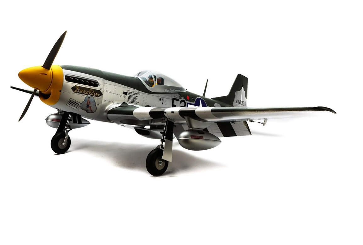 P-51D Mustang 20cc Spw.1760mm EP-GP ARF