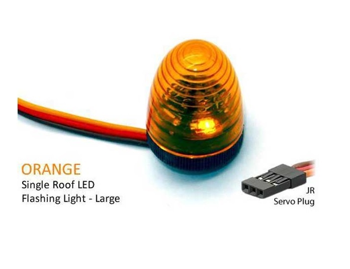 LED Dach Blinklicht Ø13x17mm orange Einzeln V4