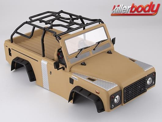 Karosserie Marauder II 1/10 Military Sand RS.313mm