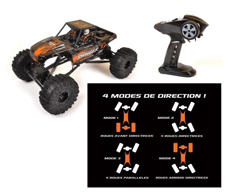 Pirate Swinger 4WD Crawler RTR