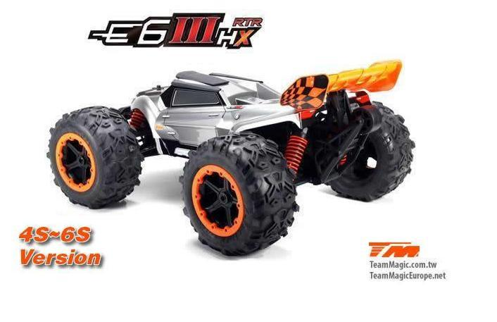 E6 III HX 6S Monstertruck RTR Team Magic