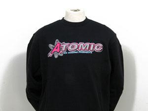 Sweater Team Atomic schwarz (XL)