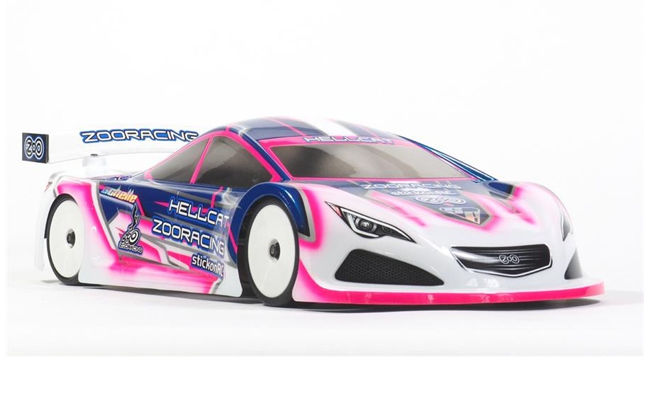 Karosserie HellCat 0.7mm (190mm) ZooRacing